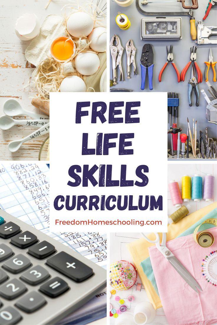 Freedom Homeschooling Free Homeschool Life Skills Life Skills Curriculum Life Skills Classroom Homeschool Life