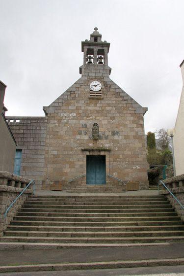 Clocher d'une église de France : 29279 - Taulé