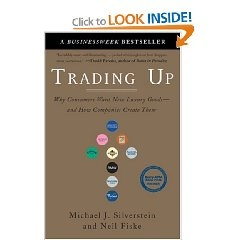 Trading Up - This book sparked my interest in the psychology of buying when I was in graduate school. Cultural trends are so intriguing, especially as social media spreads throughout the world. -Tia