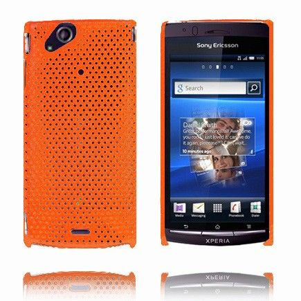 Atomic (Orange) Sony Ericsson Xperia Arc Cover