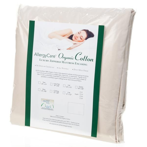 Organic Cotton Dust Mite & Allergy Mattress Encasing – iAllergy