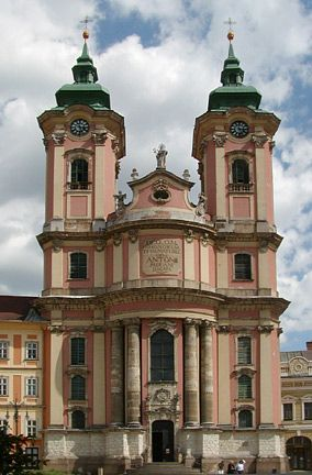 minorite church eger, Hungary