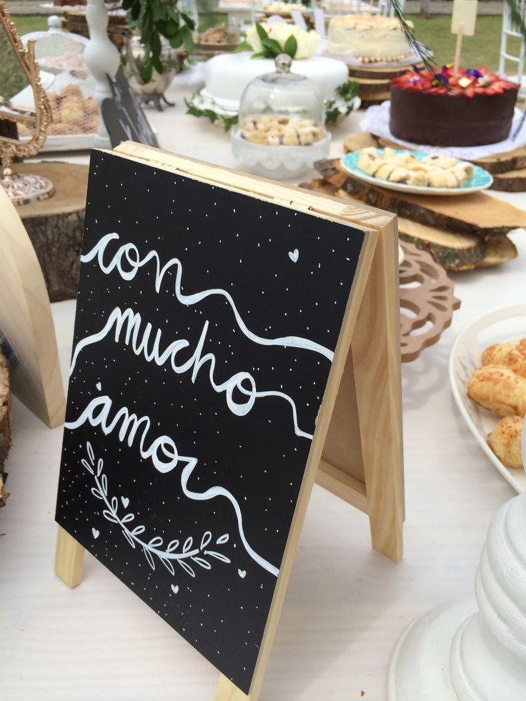 Mesa de postres - mesa de dulces - desserts