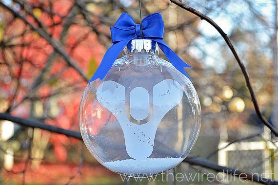 This symbol from Destiny | Community Post: 45 Awesome Christmas Ornaments Every Video Game Lover Needs
