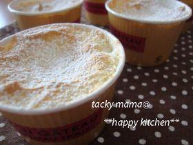 ふわふわ☆メレンゲで作るカップケーキ