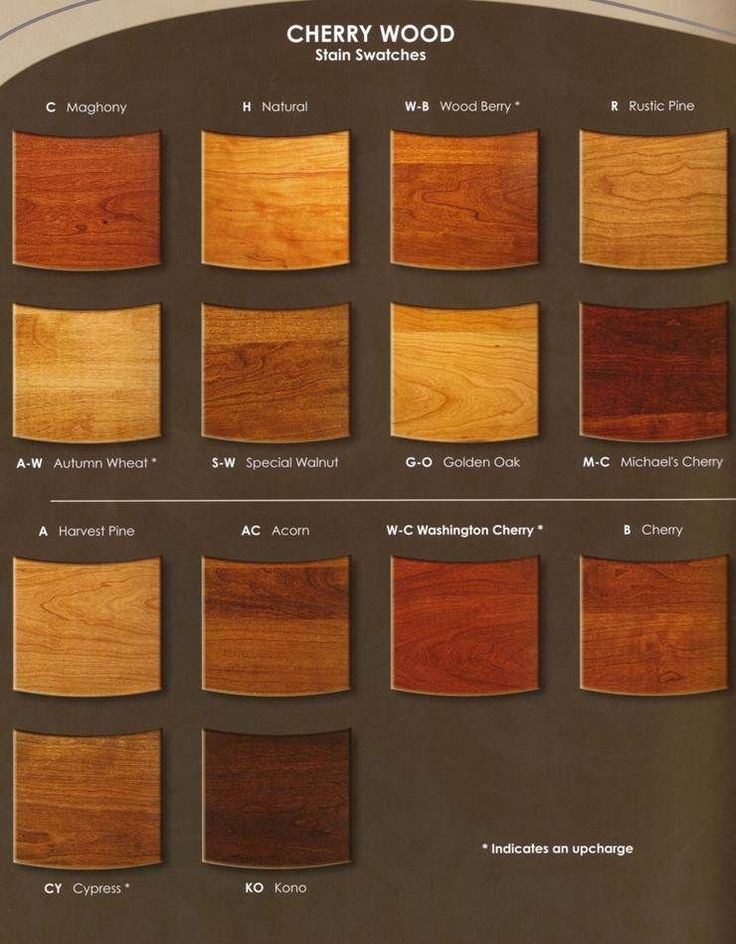1000 Images About Cherry Wood Stains On Pinterest