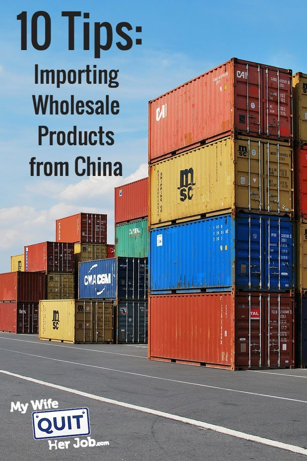 10 Tips On Importing Wholesale Products From China Using Alibaba Or GlobalSources- Recently Josh started importing goods from Asia for the very first time and wanted to share his experiences with my readers. Now in my class, I have an entire module dedicated specifically towards helping students import goods from overseas