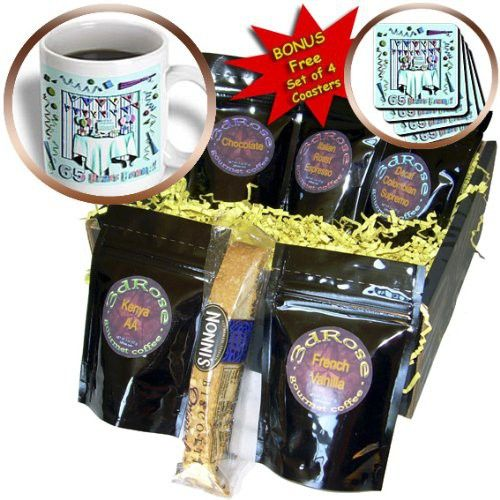 Beverly Turner Birthday Invitation Design - Birthday Room in Green Happy Birthday 65 Years Old - Coffee Gift Baskets - Coffee Gift Basket (cgb_31021_1)