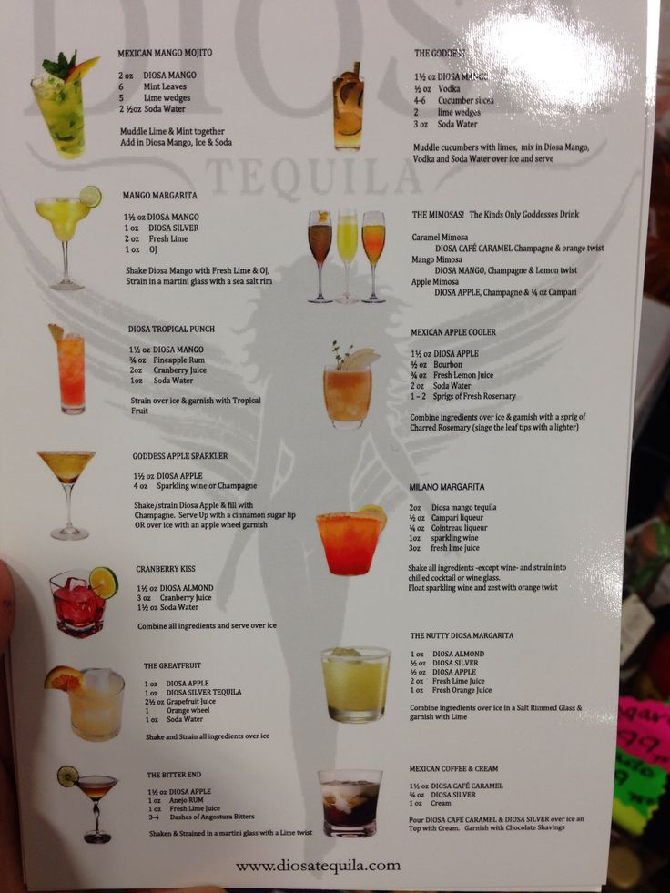 diosa tequila mix drink recipes mixed drinks pinterest