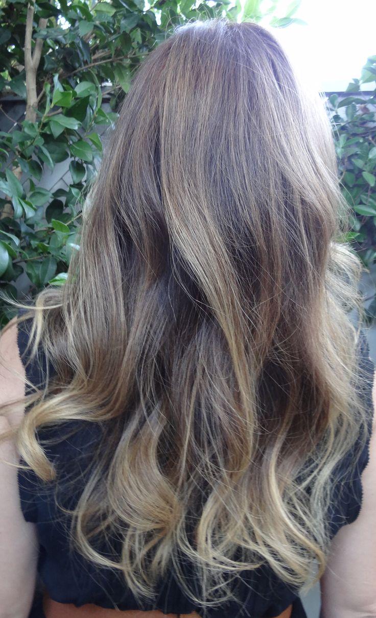 Very Subtle Ombre On Dark Blonde Hair Wonderful Brunette