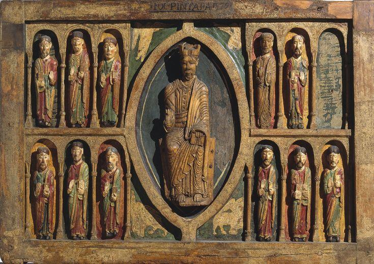 Frontal de altar de Santa Maria de Taüll   Museu Nacional d'Art de Catalunya