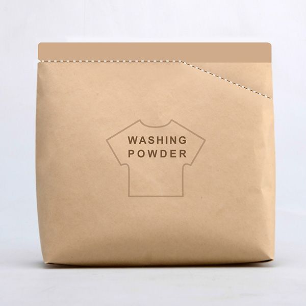 Clever Washing Powder Packaging Lets You Tear Off A Corner To Make A Spoon - DesignTAXI.com