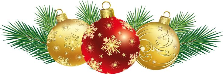 Christmas Balls Decoration PNG Clipart