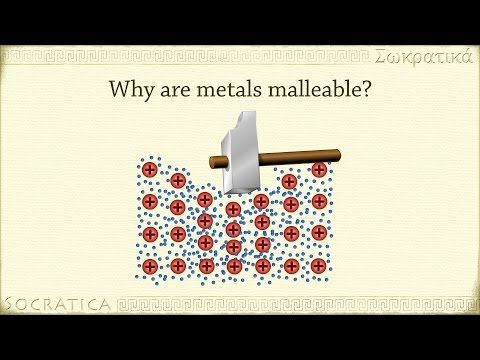 Chemistry: What is a metal? (Metallic Bonds) - YouTube