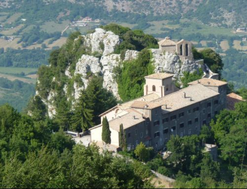 Capranica, north of Rome