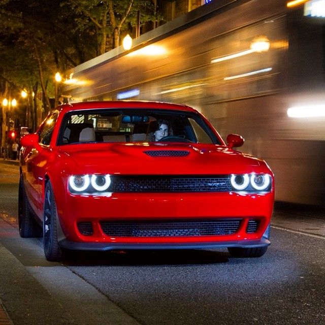 2015 Dodge SRT Challenger Hellcat this thing is bad to the bone and I'm a Chevy lady!!