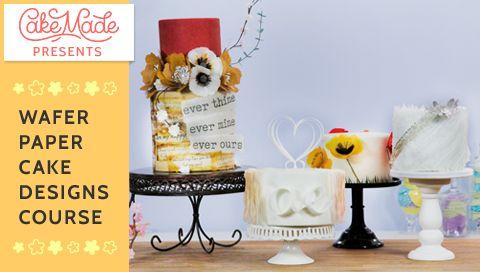 Kara's Couture Cakes – Honeyed Apricot Cake with Tonka Bean Buttercream and Pignoli Crunch