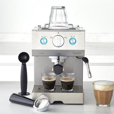 Capresso Cafe Pro Espresso Maker #williamssonoma