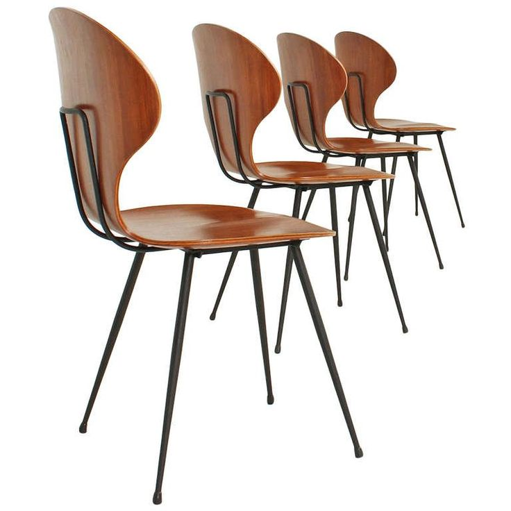Four Side Chairs by Carlo Ratti 1