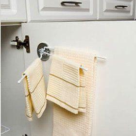 Kitchen Towel Rack Under Sink