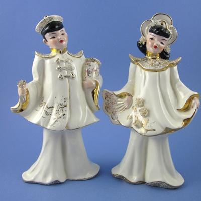Ceramic Dragon Wedding Cake Toppers