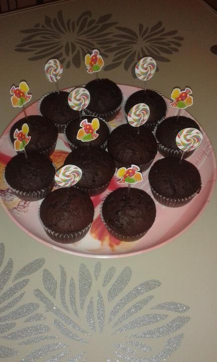 Čokoládovo škoricové muffiny