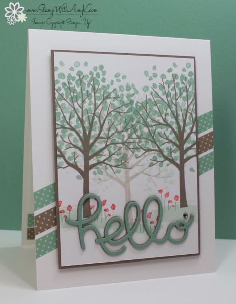 #papercrafting #cardmaking: handmade #card - by Amy K.