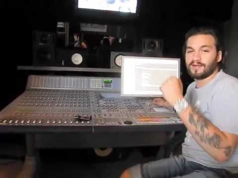 A-Trak visits Steve Angello in the studio making Klezmer