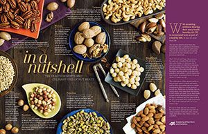 POSTER: In a Nutshell - The health benefits and culinary uses of nut meats - from the Academy of Nutrition and Dietetics