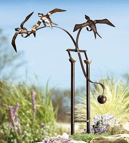 bird balance sculpture