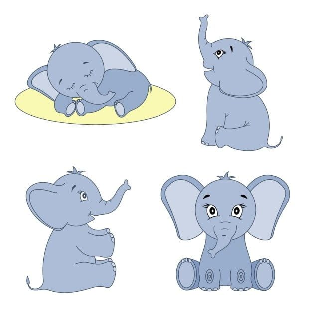 Cute Cartoon Elephants Sitting And Sleeping Baby Animals Animals Clipart African Elephant Png And Vector With Transparent Background For Free Download In 2020 Baby Elephant Cartoon Cartoon Elephant Cute Baby Elephant Baby shower, birthday party set png 243. baby elephant cartoon cartoon elephant
