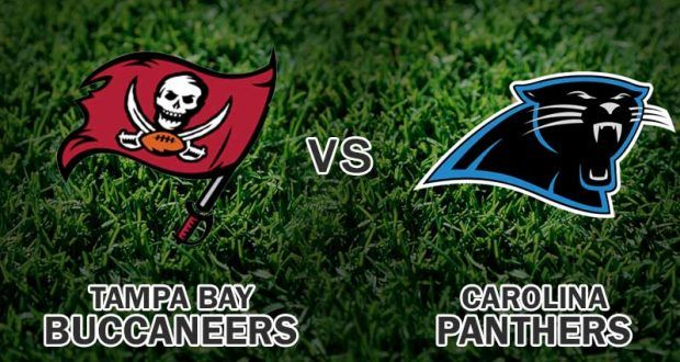 Panthers vs Buccaneers Live Monday Night Football Game