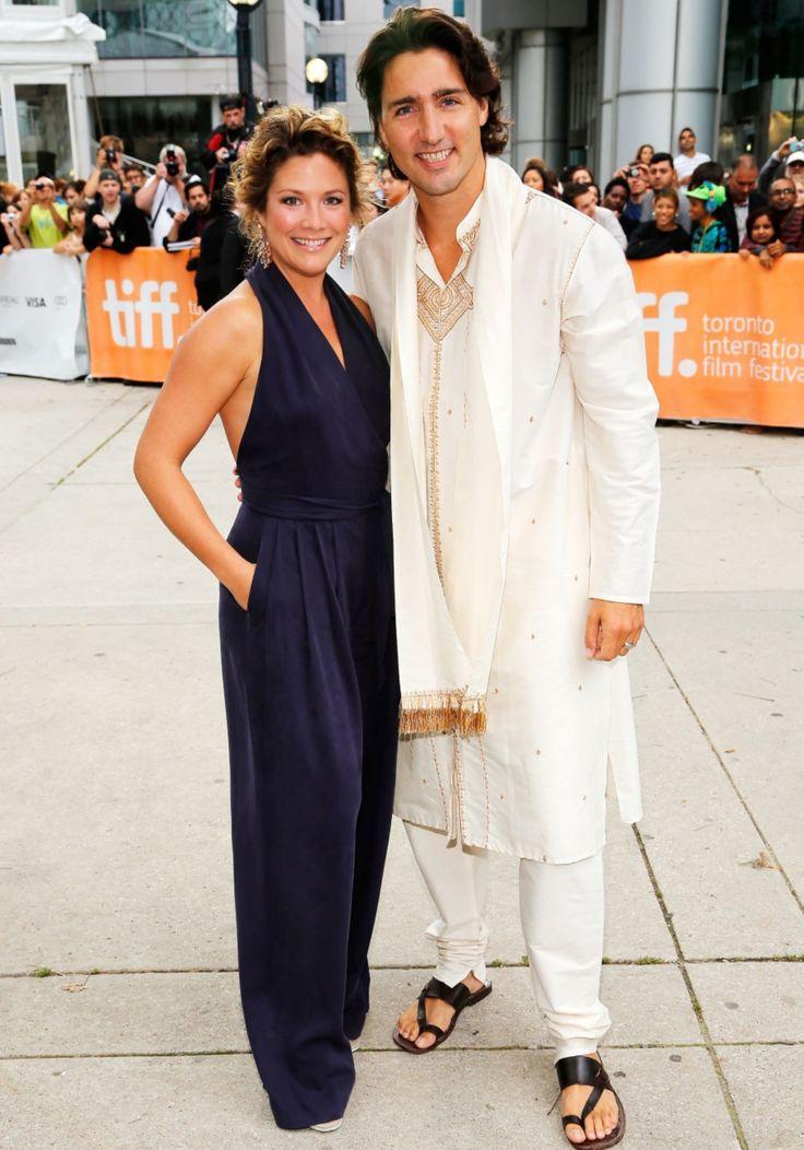 Justin Pierre James Trudeau (Justin Trudeau, 23rd Prime Minister of Canada; eldest son of Pierre Trudeau and wife Sophie Grégoire Trudeau #JustinTrudeauFashion #JustinTrudeau #fashion. #CanadaPM #SophieGrégoireTrudeau