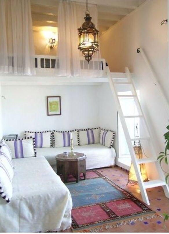 Boho tarzi beyaz Ev dekorasyonu Etnik tarz Ozgur hippi tarzi dekorasyon