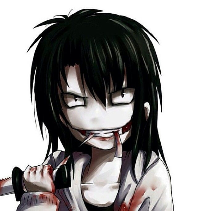 Jeff the killer, The killers and Otaku on Pinterest