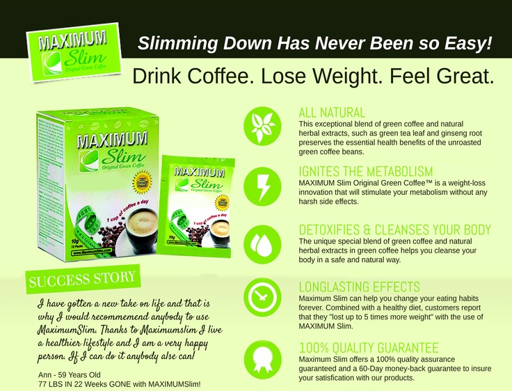 coffee green tea weight loss