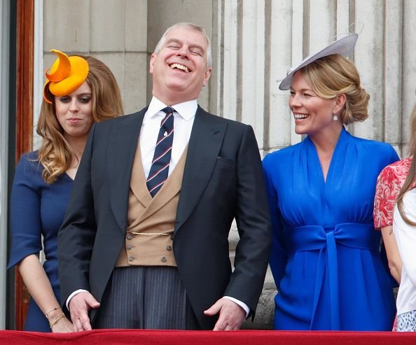 Autumn Phillips wears the Suzannah 1940s influenced dress to Trooping of the Colour 2016