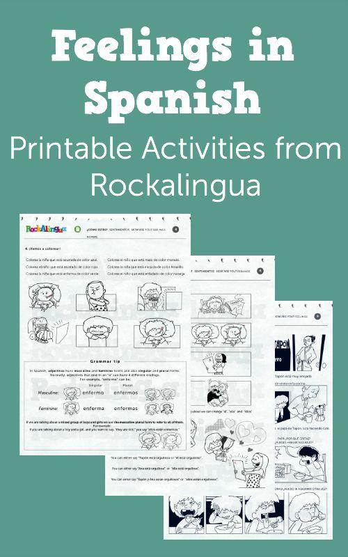 61 best Spanish worksheets for kids images on Pinterest | Spanish ...
