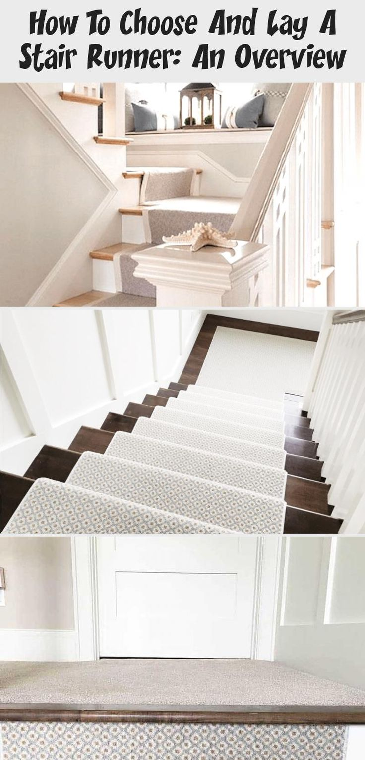 Best How To Choose And Lay A Stair Runner An Overview Grey 400 x 300