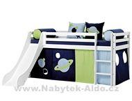 Dětská postel z masivu Space 45-12-012-01