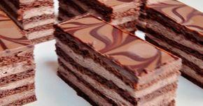 Csokoládés mézes szelet Hozzávalók a tésztához : 15 dkg cukor 10 dkg méz 5 dkg vaj 2 egész tojás 40 dkg liszt 1/2 evőkanál szódabikarbóna 3 dkg kakaóp...