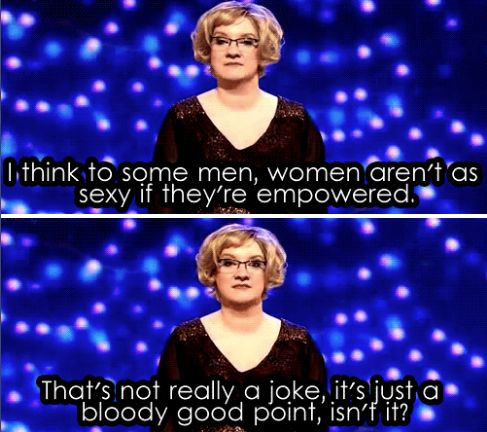 When she made this very good point. | 23 Times Sarah Millican Proved She's The Funniest Woman In Britain