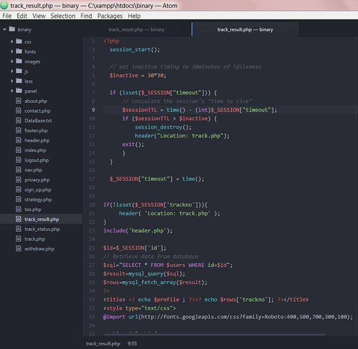 ::Tools of the Trade:: Sometimes 'Atom' code editor makes scripting less daunting.. #webdesign #php #webdeveloper  #webapplication #html #css #bootstrap  #javascript #Atom