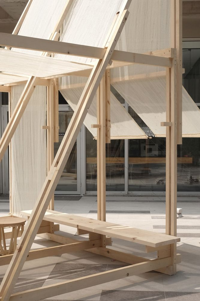 Gallery of Geçit Wooden Pavilion / IEU Faculty of Fine Arts and Design Workshop – 11