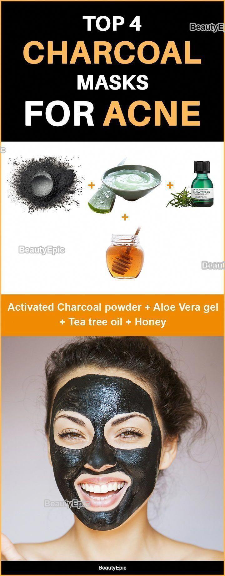 Buy Amazon: amzn.to/31bcjOk # Skin Care Recipes Top 4 charcoal masks for acne -...  -  Hautpflege-Rezepte