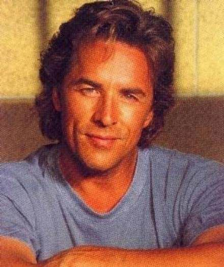 Don Johnson .. When I was 16, I had 53 posters of him hanging in my bedroom!
