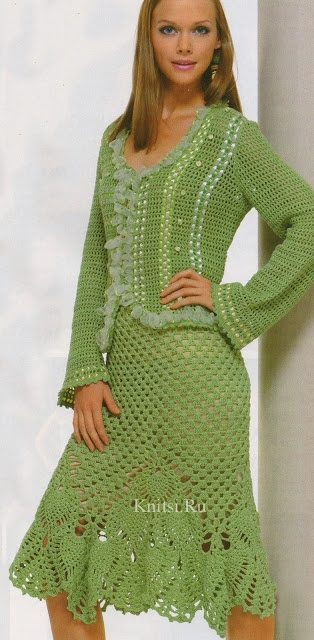 #crochet #knit #tops #skirts #dresses #patterns - A whole new board has been inspired. Dafuq am I looking at?