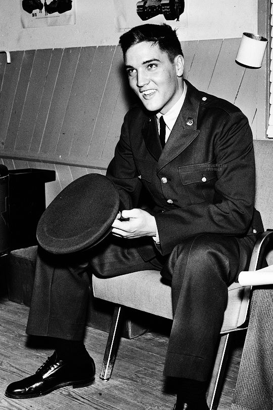 Basic Training - Elvis Presley at Fort Hood, March 28th 1958