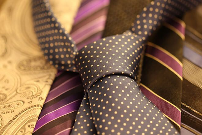 Men's Ties: Fashion Tips For the Dapper Gent - http://www.dapperfied.com/mens-ties-fashion-tips/