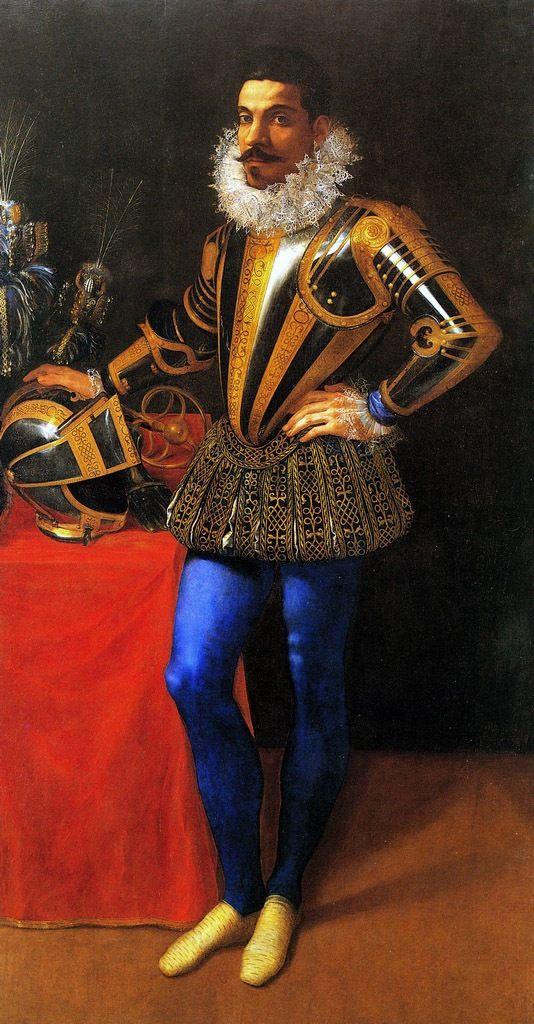 Figino Giovanni Ambrogio Ritratto di Lucio Foppa, 1585-1590